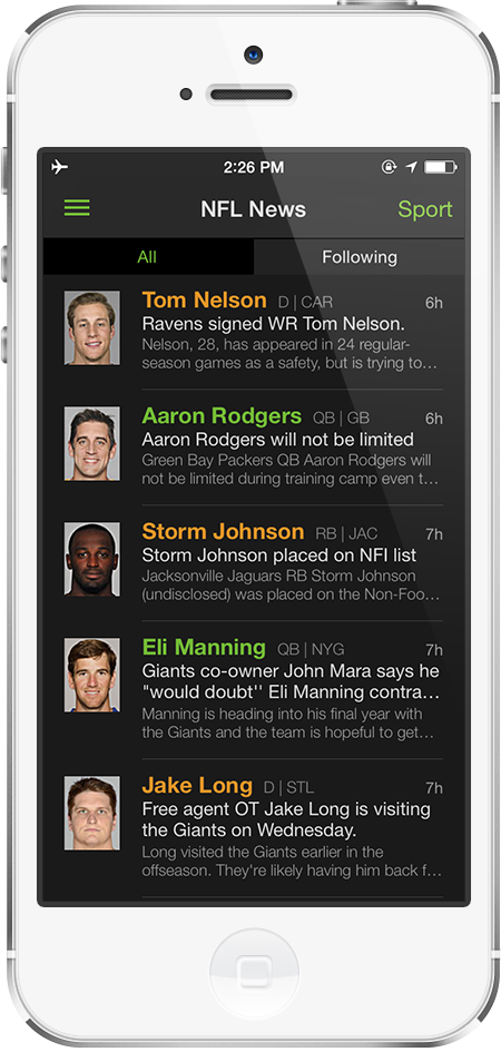 Best Fantasy Football News App